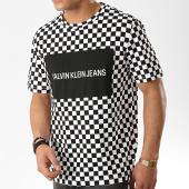 /achat-t-shirts/calvin-klein-tee-shirt-box-logo-2130-noir-blanc-176136.html