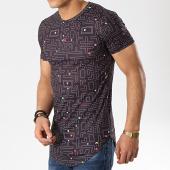 /achat-t-shirts-longs-oversize/john-h-tee-shirt-a026-noir-176061.html