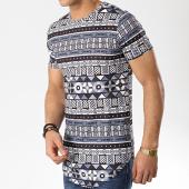 /achat-t-shirts-longs-oversize/john-h-tee-shirt-oversize-a029-noir-blanc-gris-176071.html