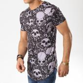 /achat-t-shirts-longs-oversize/john-h-tee-shirt-oversize-a019-noir-gris-176073.html