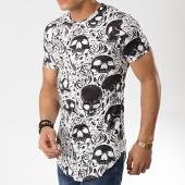 /achat-t-shirts-longs-oversize/john-h-tee-shirt-oversize-a019-blanc-noir-176076.html
