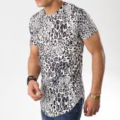 /achat-t-shirts-longs-oversize/john-h-tee-shirt-oversize-a031-noir-blanc-leopard-176080.html