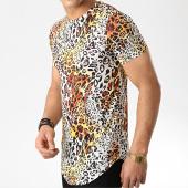 /achat-t-shirts-longs-oversize/john-h-tee-shirt-oversize-a031-jaune-leopard-176081.html