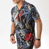 /achat-chemises-manches-courtes/produkt-chemise-manches-courtes-dek-paint-resort-aop-noir-floral-176142.html