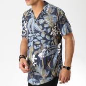 /achat-chemises-manches-courtes/produkt-chemise-manches-courtes-dek-paint-resort-aop-bleu-marine-floral-176143.html