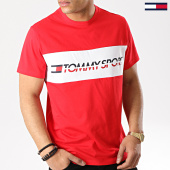 /achat-t-shirts/tommy-sport-tee-shirt-logo-driver-0082-rouge-blanc-176057.html