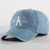 /achat-casquettes-de-baseball/calvin-klein-casquette-monogram-denim-4559-bleu-clair-176233.html