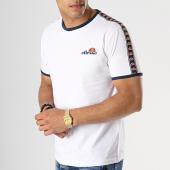 /achat-t-shirts/ellesse-tee-shirt-avec-bandes-1031n-blanc-176220.html
