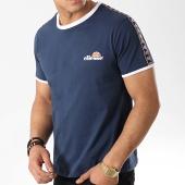 /achat-t-shirts/ellesse-tee-shirt-avec-bandes-1031n-bleu-marine-176221.html