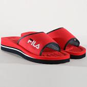/achat-claquettes-sandales/fila-claquettes-tomaia-slipper-1010289-rouge-bleu-marine-176396.html