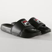 /achat-claquettes-sandales/fila-claquettes-femme-palm-beach-1010341-12v-noir-176411.html