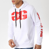 /achat-sweats-capuche/ghetto-fabulous-gang-sweat-capuche-gang-blanc-176272.html