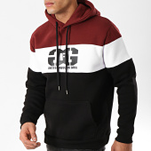 /achat-sweats-capuche/ghetto-fabulous-gang-sweat-capuche-gang-tricolore-bordeaux-blanc-noir-176281.html