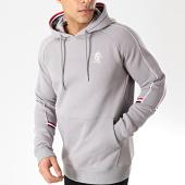 /achat-sweats-capuche/gym-king-sweat-capuche-lewis-retro-taped-gris-176252.html