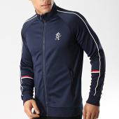 /achat-vestes/gym-king-veste-zippee-diego-retro-taped-poly-bleu-marine-176269.html