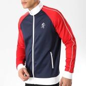 /achat-vestes/gym-king-veste-zippee-tri-colour-poly-bleu-marine-rouge-blanc-176279.html