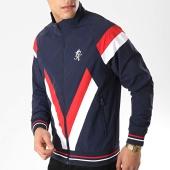 /achat-vestes/gym-king-veste-zippee-sobers-bleu-marine-blanc-rouge-176307.html