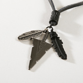 /achat-colliers-pendentifs/icon-brand-collier-mighty-proud-noir-argente-176327.html