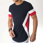 /achat-t-shirts-longs-oversize/lbo-tee-shirt-oversize-tricolore-737-bleu-marine-176419.html