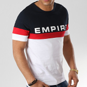 /achat-t-shirts/93-empire-tee-shirt-tricolore-tape-bleu-marine-blanc-rouge-176342.html