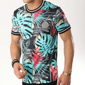 /achat-t-shirts/uniplay-tee-shirt-uy375-bleu-turquoise-noir-floral-176409.html