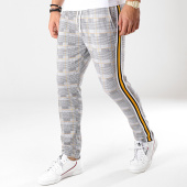 /achat-pantalons-carreaux/uniplay-pantalon-a-carreaux-avec-bandes-go50-blanc-noir-176427.html