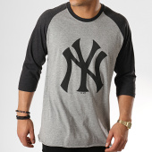 /achat-t-shirts/47-brand-tee-shirt-raglan-new-york-yankees-gris-clair-gris-anthracite-176539.html