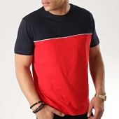 /achat-t-shirts/brave-soul-tee-shirt-stanley-rouge-bleu-marine-176726.html
