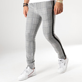 /achat-pantalons-carreaux/classic-series-pantalon-carreaux-avec-bandes-5023-gris-rose-bleu-noir-176579.html