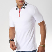 /achat-polos-manches-courtes/classic-series-polo-manches-courtes-lion-13-blanc-176666.html