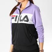 /achat-vestes/fila-veste-zippee-femme-bronte-682340-noir-blanc-lilas-176678.html