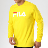 /achat-t-shirts-manches-longues/fila-tee-shirt-manches-longues-classic-pure-681092-jaune-176705.html
