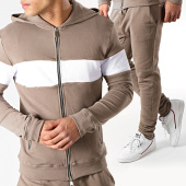 /achat-ensembles-survetement/frilivin-ensemble-de-survetement-a8138-taupe-blanc-176434.html