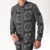/achat-chemises-manches-longues/frilivin-chemise-manches-longues-68286-noir-bandana-176440.html