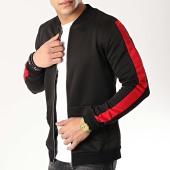 /achat-vestes/frilivin-veste-zippee-a-bandes-6095-noir-rouge-176453.html