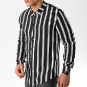 /achat-chemises-manches-longues/frilivin-chemise-manches-longues-682811-noir-blanc-176458.html