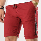 /achat-shorts-chinos/mtx-short-chino-a-bandes-mm3312-bordeaux-176555.html