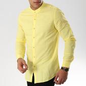 /achat-chemises-manches-longues/mtx-chemise-manches-longues-col-mao-cm323-jaune-176566.html