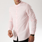 /achat-chemises-manches-longues/mtx-chemise-manches-longues-col-mao-cm323-rose-176571.html