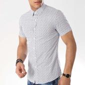/achat-chemises-manches-courtes/mtx-chemise-manches-courtes-dx2108-blanc-bleu-marine-176573.html