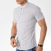 /achat-chemises-manches-courtes/mtx-chemise-manches-courtes-dx2108-blanc-noir-176575.html