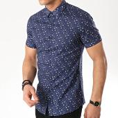 /achat-chemises-manches-courtes/mtx-chemise-manches-courtes-dx2101-bleu-marine-floral-176604.html