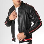 /achat-vestes/mtx-veste-zippee-a-bandes-xh-88913-noir-176699.html