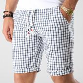 /achat-shorts-chinos/mtx-short-a-carreaux-ww-5266c-blanc-bleu-marine-176739.html