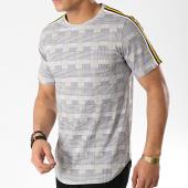 /achat-t-shirts-longs-oversize/uniplay-tee-shirt-oversize-a-carreaux-avec-bandes-go53-blanc-noir-176500.html