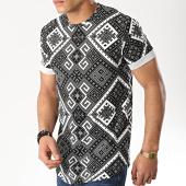 /achat-t-shirts-longs-oversize/uniplay-tee-shirt-oversize-uy348-noir-blanc-176543.html