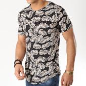 /achat-t-shirts-longs-oversize/uniplay-tee-shirt-oversize-kxt-13-noir-beige-floral-176556.html