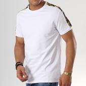 /achat-t-shirts/aarhon-tee-shirt-avec-bandes-91243-blanc-renaissance-176928.html