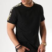 /achat-t-shirts/aarhon-tee-shirt-avec-bandes-91243-noir-renaissance-176929.html