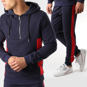 /achat-ensembles-survetement/aarhon-ensemble-jogging-a-bandes-19-031-021-bleu-marine-rouge-176933.html